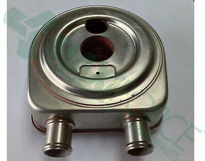 COOLER, OIL, 6 PLATE, (Donut Style) STRAIGHT CONNECTIONS  RE61767