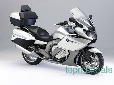 Bmw K 1600 Gtl Workshop Service Manual K1600Gtl On Dvd