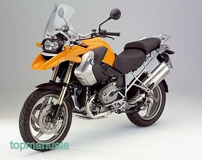 Bmw R 1200 Gs Workshop Service Manual R1200Gs On Dvd
