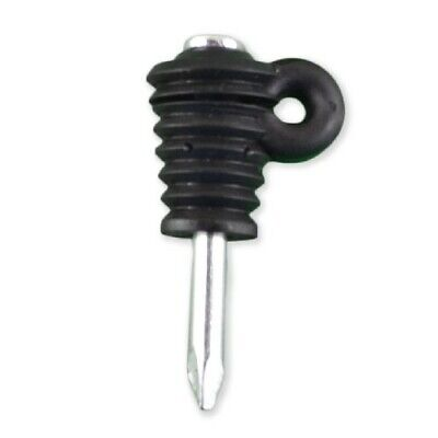 Nail On Insulator 100 Timber Wood Post Nail On Electric Fence Insulators