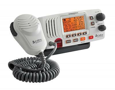 Cobra Powerful VHF Marine Radio 25W Long Range Waterproof High Quality NEW 3yr