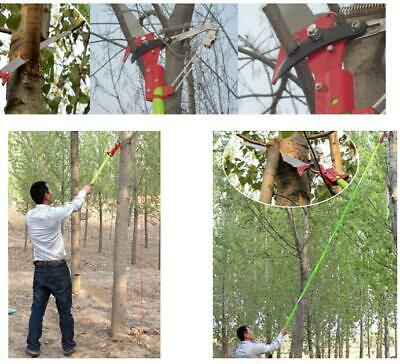 New 26 Foot Length Tree Pole Pruner Tree Saw Garden Tools Loppers Shipped USA