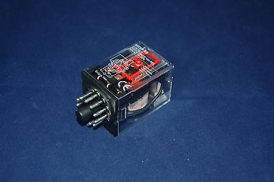 One  New Plug In Relay 11Pin 3P Fits Mk-3Pns 12V Ac Coil