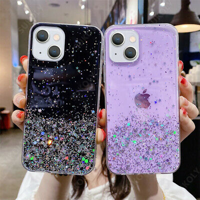 For iPhone 11 Pro XS XR 8 7 6 Crystal Case Bling Diamonds Bumper Soft Slim Cover