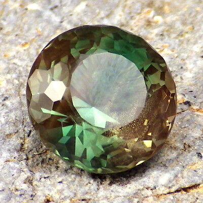 GREEN DICHROIC SCHILLER OREGON SUNSTONE 5.13Ct VVS1-INCREDIBLE COLOR-INVESTMENT!