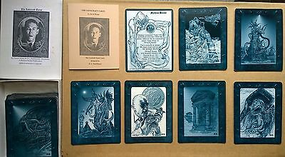 The Lovecraft Tarot - Complete First Edition Set - Extremely Rare - Cthulhu
