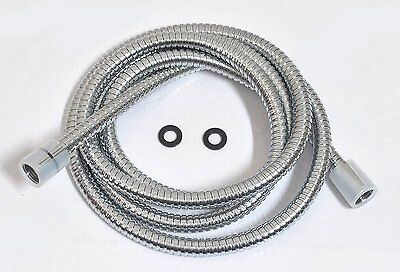 """Oil Brushed Bronze Stainless Steel Shower Hose 79/"""" Swivel Ends Extra Long"""