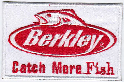 Berkley fishing Badge Embroidered Patch