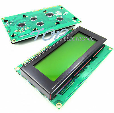 2004 204 20x4 Character LCD Display Module HD44780 Controller yellow Blacklight