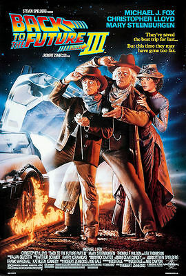 """Back to the Future 3 ( 11"""" x 17"""" ) Movie Collector's Poster Print - B2G1F"""