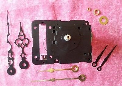 Non-Pendulum Clock Kit - Seiko Chiming Quartz Clock Movement With Hands (128)
