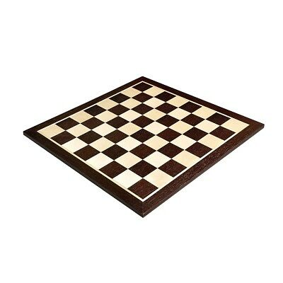 """USCF Sales African Palisander & Maple Wooden Chess Board - 2.0"""""""