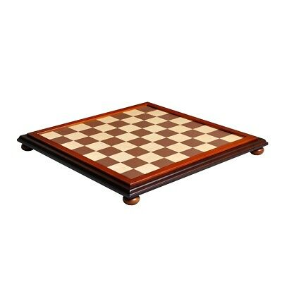 """USCF Sales Walnut and Maple Classic Traditional Chess Board - 2.25"""" Squares"""
