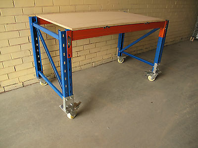 Heavy Duty Workbench on Castors