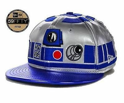 Star Wars New Era 59FIFTY Fitted R2-D2 Character Face Exclusive Cap 7 3/8
