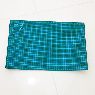A3 Thick 5-Ply Self Healing Craft Cutting Mat 2-Side Print Quilting Scrapbooking