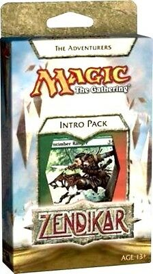 Mtg Zendikar The Adventurers Intro Deck With Booster Pack Inside Free Ship