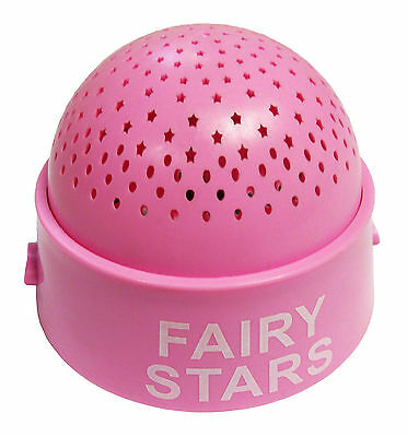 2 x PINK FAIRY STAR CEILING PROJECTOR NIGHT LIGHT LED SKY LAMP childrens bedroom