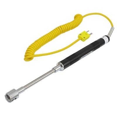 Yellow Cable K Type Thermocouple Probe Temperature Sensor ET