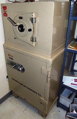 Mosler 2-Compartment Wheeled Standing Burglary Combination Safe