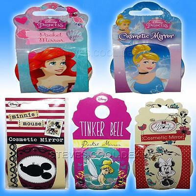 Pocket Mirror Cosmetic Elsa Frozen Princess CINDERELLA ARIEL MINNIE TINKERBELL