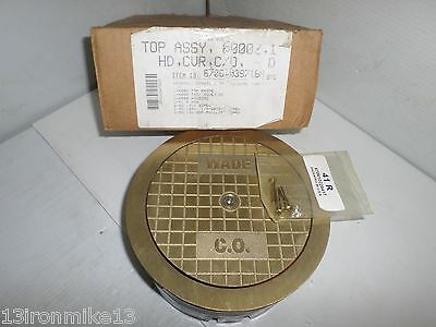 New Wade 6000z 1 Bronze Floor Cleanout Cover Assembly Nib