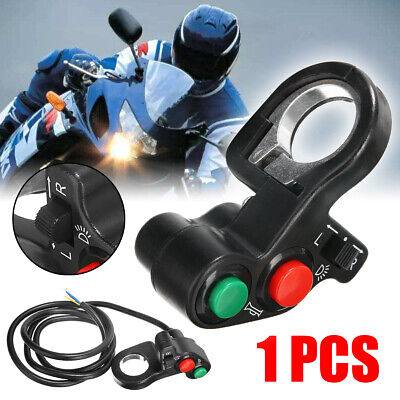 "New Horn Turn Signals On/Off Light Switch For 7/8"" Handlebar ATV Bike Motorcycle"