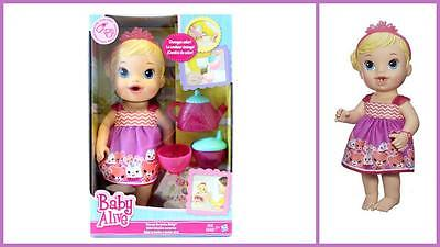 Baby Alive Tea Cup Surprise Drinks & Wets Baby Doll With Colour Change Teapot