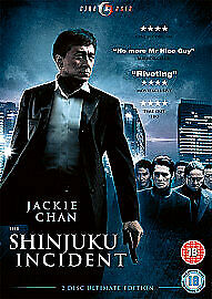 The Shinjuku Incident 2-Disc Ultimate Edition Dvd Jackie Chan New Factory Sealed