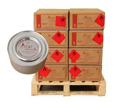Box 36 Tins 2 Hours Burn Chafing Dish Gel Fuel - For Chafing Sets
