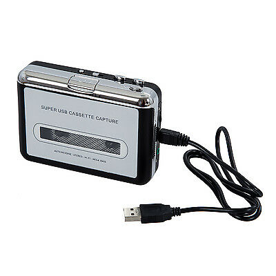 USB Portable Handheld Super Tape to PC USB Cassette-to-MP3 Converter ET