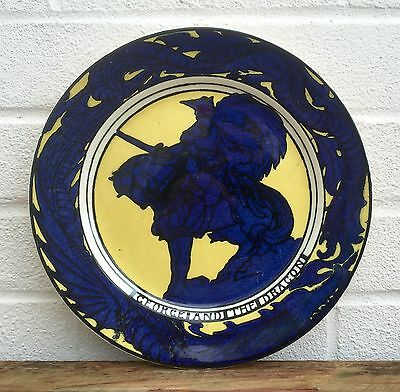 Royal Doulton Series Ware -George And The Dragon- Collectors Plate Plaque D5109