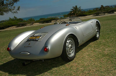 Photos of a Porsche 550 Spyder by Fibersteel.