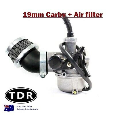 19Mm Carburettor Carby & Air Filter Atv Dirt Quad Bike Atomik Thumpstar Tdrmoto