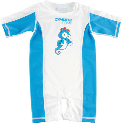 Cressi Blue Babaloo Sun Protective Baby Infant Suit