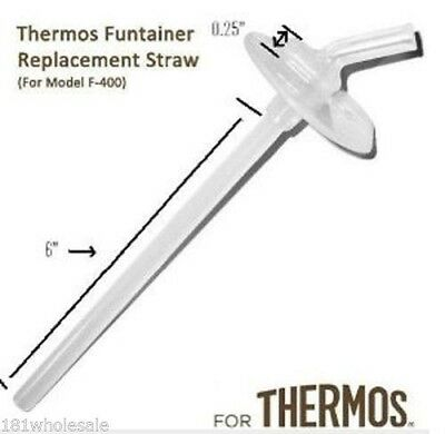Thermos Mouthpiece Replacement Parts Straw and Spout Foogo Funtainer Intak F-400