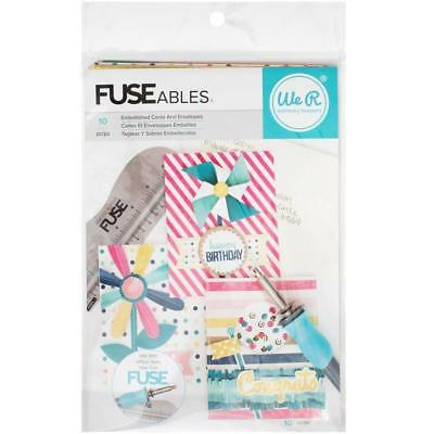 We R Memory Keepers-FUSEables fuse Cards And Envelopes Kit: Everyday 660866
