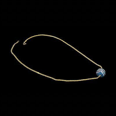 Aphrodite- Ancient Eastern Mediterranean  Bead And Gold Necklace