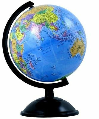 14Cm Educational Toy World Globe Map On Swivel Stand Gift Kids Office Desk