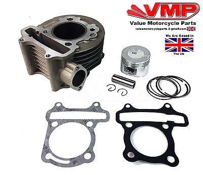 Top End Piston Barrel Cylinder 125cc Kit GY6 For Yiying Tommy 125 YY125T-19
