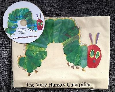 The Very Hungry Caterpillar Empty Story Sack & Teaching Resources CD