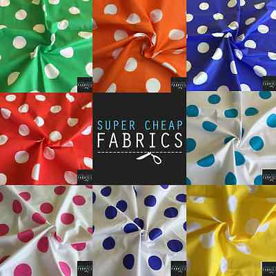 Polka Dot Fabric,Spotted fabrics, Spots 120CM Wide, $2.95 Per Meter