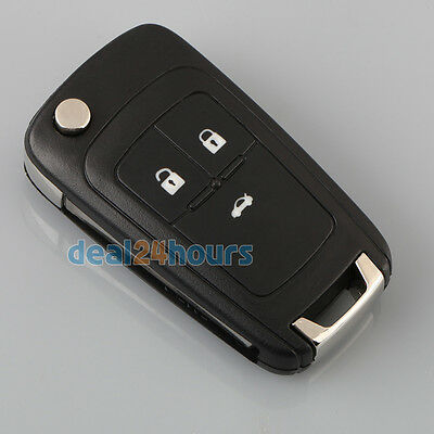 Remote Flip Folding Key Shell Case for VAUXHALL OPEL Astra Insignia 3 Buttons