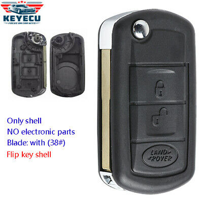 Replacement Remote Key Case Fob for Land Rover Range Rover Sport LR3 Discovery