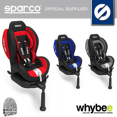 00923I SPARCO F500i CHILDRENS CAR BABY SEAT GROUP 1 9-18KG CHILD 1-4 YRS KIDS