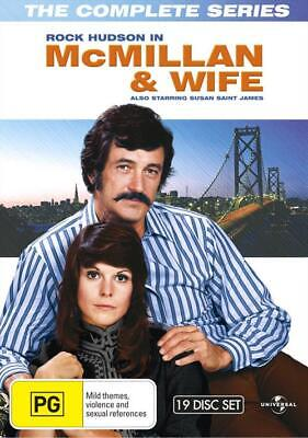 McMillan And Wife - The Complete Series (DVD, 2013, 19-Disc Set) New Sealed Reg4