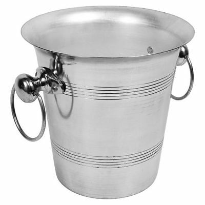 Aluminium Wine Bottle Cooler Ice Bucket Champagne Bucket 4 L~ 7pt Bar Party