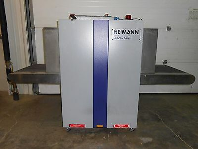 HEIMANN X-RAY INSPECTION HI-SCAN 2416 Security X-ray Scanner