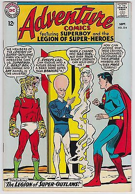 Adventure Comics #324 VF 8. Superboy The Legion Of Super-Outlaws 1964!