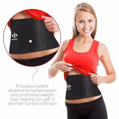 Gallant Neoprene Sauna Slimming Belt Adjustable Weight Loss Body Waist Trimmer
